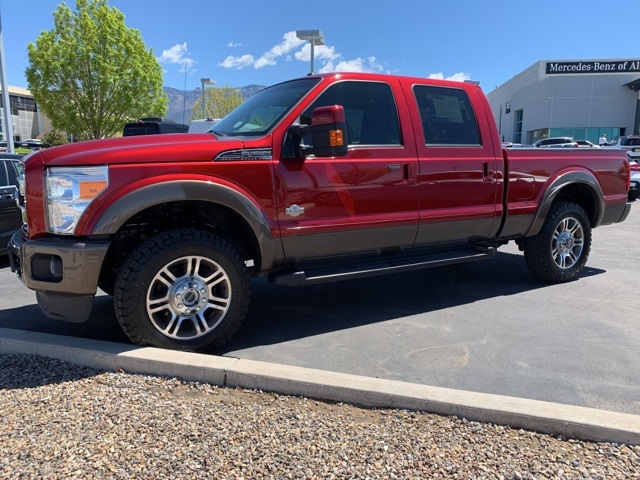 Pre-Owned 2016 Ford F-250SD King Ranch