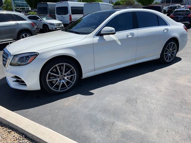 Pre-Owned 2019 Mercedes-Benz S-Class S 450